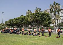 Mersin Büyükşehir Belediyesi, 106 yeni çim biçme makinesi aldı