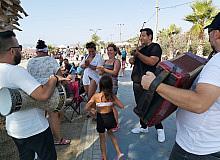 Müzisyenler bayramda da coşturdu