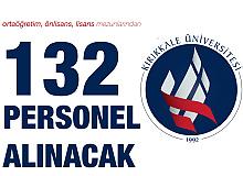 Ortaöğretim, Önlisans ve Lisans Mezunlarından 132 Sağlık Personeli Alımı Yapılacak