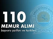 Samsun Büyükşehir Belediyesi 110 Memur Alımı Başvuru Şartları ve Tarihleri