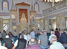 Şeyh Şaban-ı Veli Cami'nde ilk cuma namazı kılındı