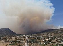 Silifke'deki yangın sürüyor