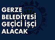 Sinop Gerze Belediyesi'ne Geçici İşçi Alınacak