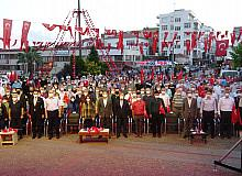 Sinop'ta demokrasi nöbeti başladı
