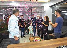Talasemi hastasına markette doğum günü sürprizi