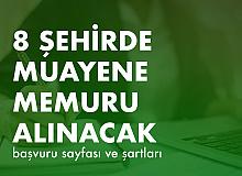 Ticaret Bakanlığı'na 8 Şehirde 75 Muayene Memuru Alımı Yapılacak