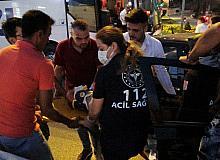 Tokat'ta kırmızı ışık ihlali kazaya neden oldu: 1 yaralı