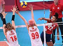Tokyo Olimpiyat Oyunları: ABD: 3 - Türkiye: 2