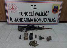 Tunceli'de Eren-7 Operasyonu: Çok sayıda mühimmat ele geçirildi