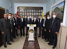 TÜRKAV Genel Başkanı Korkmaz'dan Başkan Pekmezci'ye ziyaret