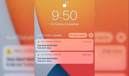 Türkiye'deki bazı iPhone'lara acil durum uyarısı yapıldı