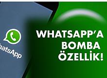 """Whatsapp'a Bomba Özellik! """"Bir Kez Görüntüle"""" İmkanı…"""