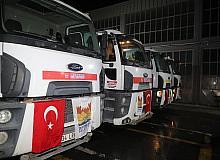 Zeytinburnu Belediyesi'nden yangın bölgelerine destek