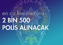 2 Bin 500 Polis Alımı Yapılacak ! PMYO Tarihleri ve Şartları