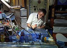 40 yaşından sonra öğrendiği sanatı aşkla yapıyor