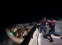 44 düzensiz göçmen Sahil Güvenlik ekipleri tarafından kurtarıldı
