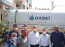 Afet bölgesindeki büyükşehir ekiplerini Cumhurbaşkanı Yardımcısı Oktay ve Bakan Gül ziyaret etti