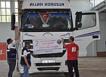 Afyonkarahisar'dan Kastamonu'ya yardım tırı gönderildi