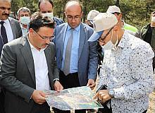 Akdağ Tabiat Parkı yolu daha güvenli ve konforlu olacak