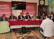 Akşehir'de muhtarlara bilgilendirme toplantısı yapıldı