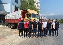 Alperen Ocakları Antalya'da yangın bölgesindeki çalışmalara katıldı