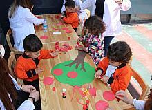 Anaokulu öğrencilerinden Fotoğrafçılık Günü etkinliği