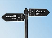 Ankara'nın yeni tabelaları için Başkent Mobil uygulamasından oylama başlatıldı