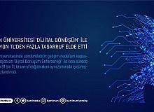 Bartın Üniversitesi 'Dijital Dönüşüm' ile 15 milyon TL'den fazla tasarruf elde etti