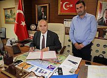 Başkan Faruk Özlü TUBİTAK ile sözleşme imzaladı