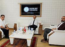 Bayburt protokolü Bayburt Üniversitesini konuştu