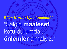 """Bilim Kurulu Üyesi Prof. Dr. Yavuz, """"Bulaştırma zincirini kıracak önlemler almak zorundayız"""""""