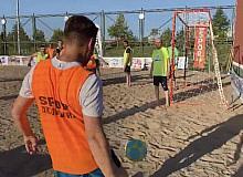 Büyükşehir'den bir ilk: denizi olmayan Kayseri'de plaj futbolu