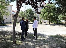 Çubuk Belediye Başkanı Demirbaş, ilçede devam eden çalışmaları yerinde inceledi