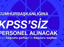 Cumhurbaşkanlığı İletişim Başkanlığı'na KPSS'siz Personel Alınacak! Başvurular 20 Ağustos'a Kadar Devam Edecek