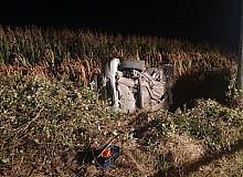 Direğe çarpan aracın sürücüsü hayatını kaybetti
