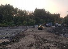 Diyarbakır Büyükşehir Belediyesi Sinop Türkeli'de bozulan yollar ve yıkılan köprüleri onarıyor
