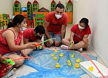 Engelsiz Kafe'de otizmli gruplar için '1 nefes' programı