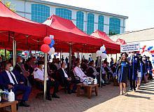 İktisadi ve İdari Bilimler Fakültesi mezunlarına yemin ve kep atma töreni yapıldı