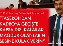İYİ Partili Vekilden Taşeron Kadro Çıkışı! Sadaka Beklemiyorlar
