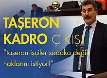 İYİ Parti Aksaray Milletvekili Ayhan Erel'den Taşeron Kadro Çıkışı