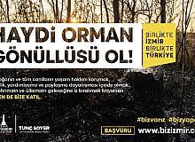 İzmir'de yangınlarla sivil müdahale için Orman Gönüllüleri Ekibi kuruluyor