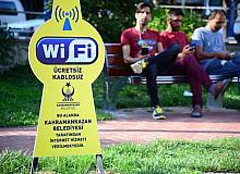 Kahramankazan parklarında ücretsiz internet