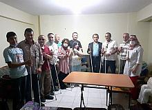 Kütahya Altı Nokta Körler Derneği'nden Kastamonu'ya anlamlı ziyaret