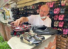 Lastik ayakkabılara fındık sezonu talep artıyor