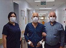 Mesane tümöründen başarılı operasyonla kurtuldu