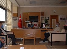 MHP'den Başhekim Yavuzer'e hayırlı olsun ziyareti
