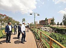Milletvekili Şahin, Şehitkamil'deki yatırımları inceledi
