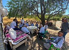 Milletvekili Tutdere, Gerger'de köyleri gezdi