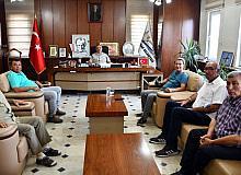 Milliyetçi Hareket Partisi Eski Grup Başkan Vekili Yusuf Halaçoğlu İscehisar ilçesini ziyaret etti