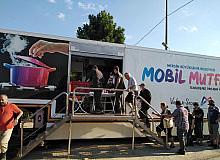 Mobil Mutfak Tırı selzedeler için hizmette